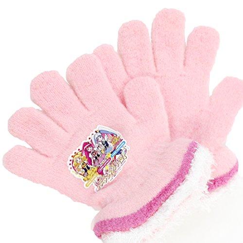 ハピネスチャージ プリキュア 手袋 カラー:ピンク