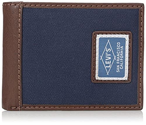 10. Levi's Men's Extra Capacity Slimfold Irving Wallet