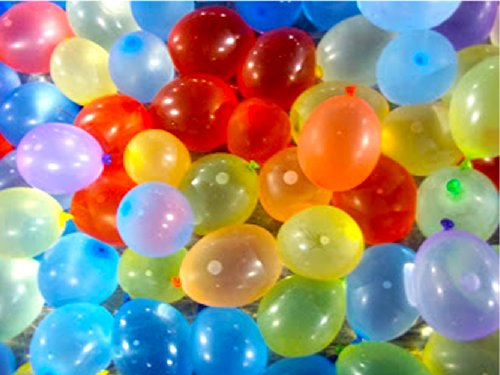 Mylife Multi Colored - Flexible Latex Rubber (100 Count Pack - Standard Size) Water Bomb Grenade Balloons (Fantastic For Birthday Parties)
