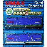 UMAX DDR4-2133 4G*2 デスクトップ用 288pin U-DIMM UMAX DCDDR4-2133-8GB HS