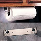 Comixpro Prodyne Stainless Steel Under Cabinet Paper Towel Holder Rack Wall Mount #M-913
