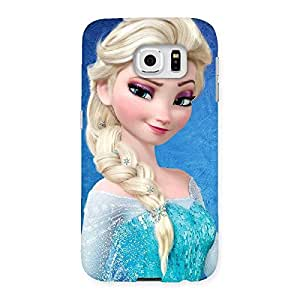 Cute Cunning Princess Back Case Cover for Samsung Galaxy S6