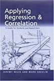 Applying regression & correlation :  a guide for students and researchers /