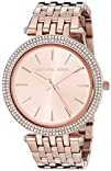 Michael Kors Womens Darci Rose Gold-Tone Watch MK3192