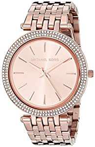 Michael Kors Women's Darci Rose Gold-Tone Watch
