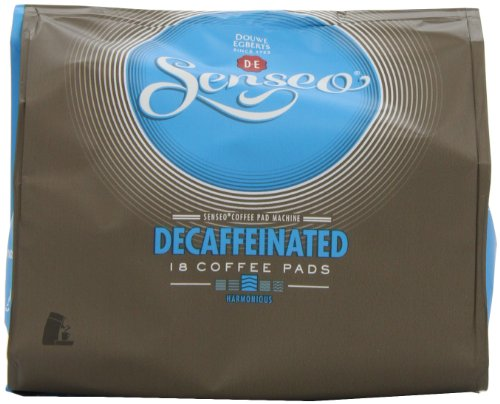 Douwe Egberts Senseo Decaffeinated Coffee 18 Pads (Pack of 5, Total 90 Pods)