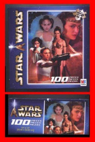 Cheap Hasbro Star Wars 100 Piece Jigsaw Puzzle Padme Amidala (B001PDPLHS)