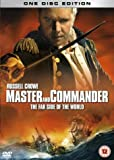 Master and Commander: The Far Side of the World (Single Disc Edition) [DVD] [2003]