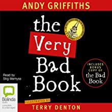 The Very Bad Book Audiobook by Andy Griffiths, Terry Denton Narrated by Stig Wemyss