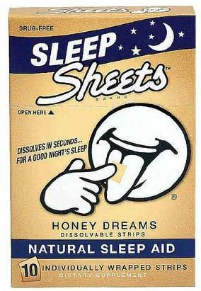 Sleep Sheets Honey Dreams Dissovable Strips 10 ct (Pack of 6)