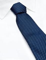 Collezione Pure Silk Spotted Tie [T12-3834-S]