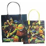 Ninja Turtles Party Favor Goody Gift Bag - 8 Medium Size (12 Bags)