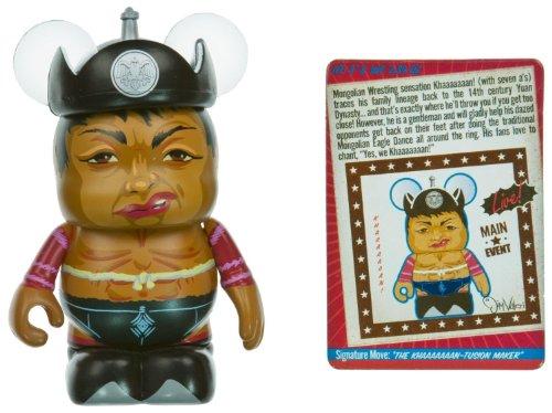 "Khaaaaaaan! - Disney Vinylmation ~3"" Extreme Wrestlers Series Designer Figure - 1"
