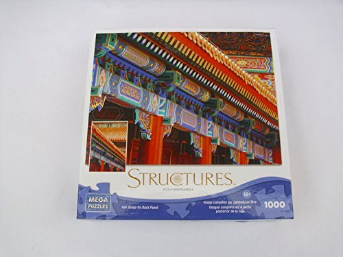 Structures 1000 Piece Detail Roof on a Chinese Temple