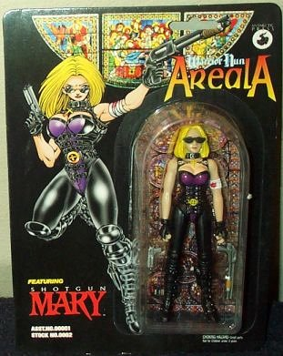 Warrior Nun Areala Shotgun Mary Action Figure - 1