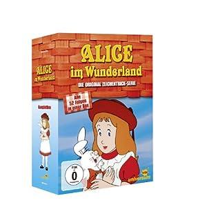 Alice im Wunderland - Die Orginal Zeichentrick-Serie (Alle 52 folgen in einer Box) [8 DVDs]