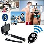 Selfie Stick mit Bluetooth Ausl�ser F...