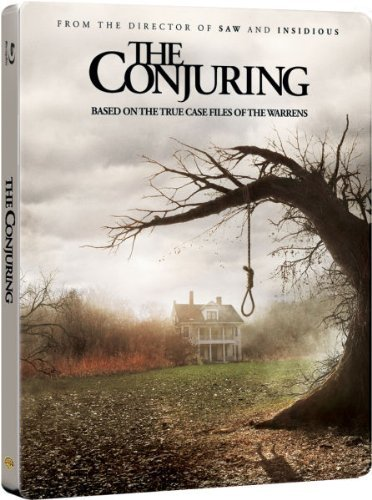 The Conjuring UK Limited to 4,000 Copies Blu-Ray Steelbook Edition Region B