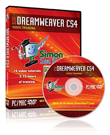 Learn Adobe Dreamweaver CS4 Training Tutorial Video DVD