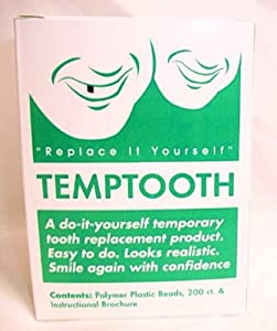 Temptooth Do It Yourself Tooth Replacement Product