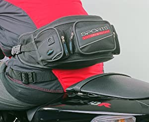 Oxford Motorcyclists / Cyclists Lifetime Bum Bag and Visor Carrier