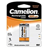 Camelion Akku E-Block / 9V-Block NiMH 250 mAh 1er-Blistervon &#34;Camelion&#34;