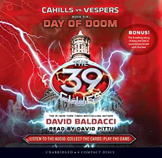 Book Cover: The 39 Clues: Cahills vs. Vespers Book 6: Day of Doom - Audio Library Edition