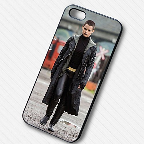 Negasonic Teenage Warhead in Angry for Iphone 6 and Iphone 6s Case ( White Rubber Case)