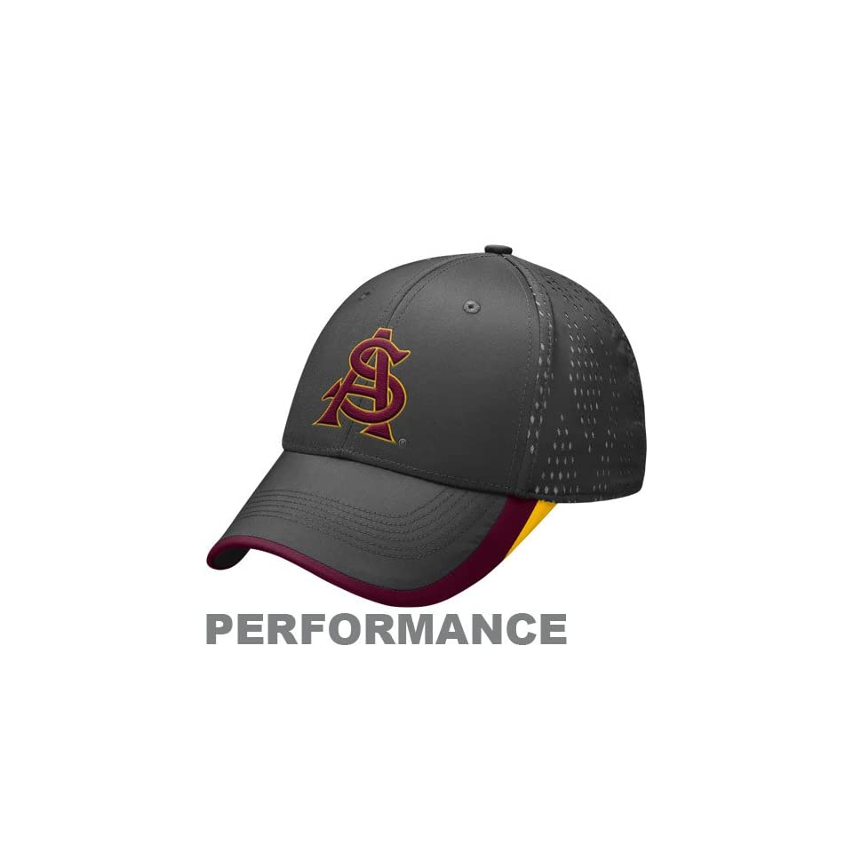 5dffcb28961 Nike Arizona State Sun Devils Charcoal Legacy 91 Nothin But Net Performance Flex  Fit Hat