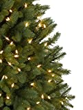 7' Balsam Hill Park Avenue Corner Artificial Christmas Tree - Clear