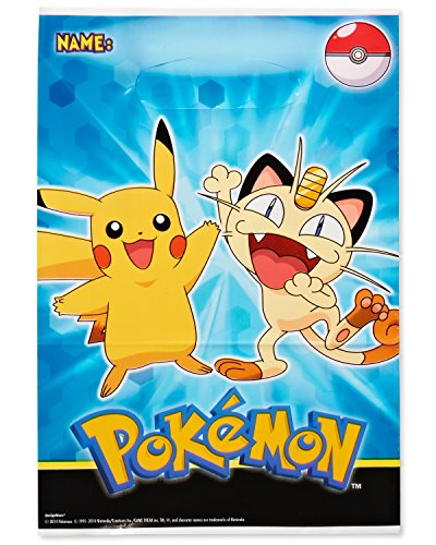 American Greetings Pokemon Treat Bags (8 Count)