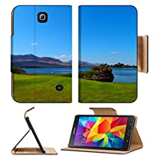 buy Samsung Galaxy Tab 4 7.0 Inch Flip Pu Leather Wallet Case Golf Course In Killarney With Lough Leane Lake In Behind Image 36594204 By Msd Customized Premium