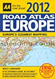 Europe Road Atlas Map 2012 Latest Edition
