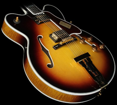 Gibson Custom Shop Hslcdcvsgh1 L5 Double Cut Hollow-Body Electric Guitar, Vintage Sunburst