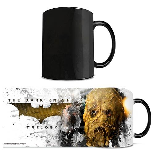 Batman The Dark Knight Trilogy Scarecrow Morphing Mug, 11 Oz