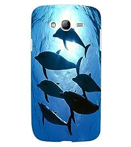 ColourCraft Dolphins Design Back Case Cover for SAMSUNG GALAXY GRAND NEO PLUS I9060I