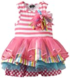 Mud Pie Girls 2-6x Tiered Birthday Party Tutu Dress