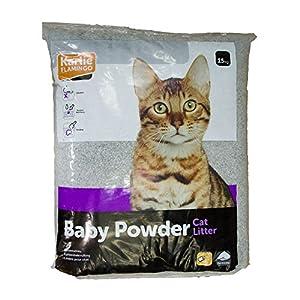 Katzenstreu Petplus mit Babypuderduft 15kg