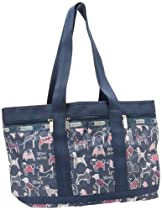 Hot Sale LeSportsac Medium Travel Tote,Bow Wow,One Size