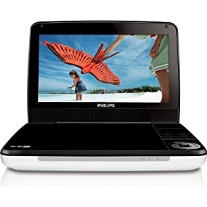 "Philips 9"" LCD Portable DVD Player PD9000 / PD9000/37"