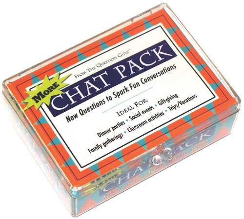 Chat Pack Stories Cards Fun Questions to Spark Story-Filled Conversations098200091X