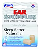 Flents By Apothecary Products, Inc. Flents Ear Stopples Soft Wax-Cotton Ear Plugs, 6-Count (Pack of 2)