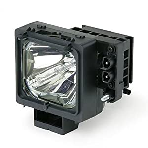 Sony Replacement TV Lamp for KDF-55WF655, KDF-55WF655K, KDF-55XS955, KDF-60WF655, KDF-60WF655K, KDF-60XS955, KDF-E55A20, KDF-E60A20, KF-WS60, KF-WS60A1, KF-WS60M1, KF-WS60S1, with Housing