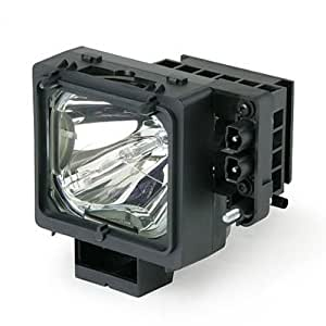 Compatible Sony Replacement TV Lamp for KDF-55WF655, KDF-55WF655K, KDF-55XS955, KDF-60WF655, KDF-60WF655K, KDF-60XS955, KDF-E55A20, KDF-E60A20, KF-WS60, KF-WS60A1, KF-WS60M1, KF-WS60S1, with Housing