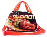 Disney Pixar Cars Large Duffle Rolling Wheeled Backpack Luggage Travel Case Pilot