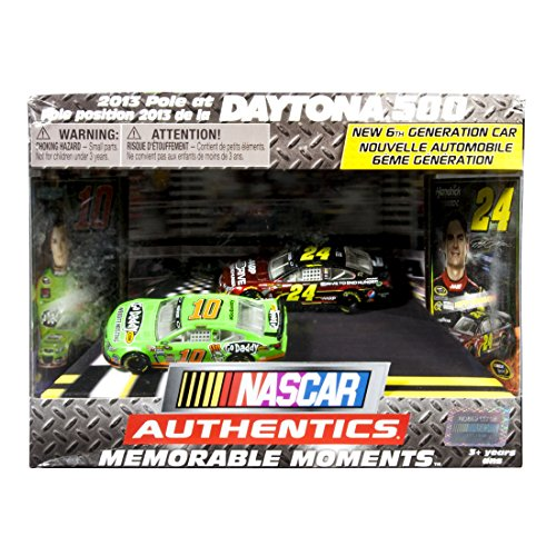 NASCAR Authentics Collector Pack: '13Chevy #10GoDaddy/#24AARP - 1
