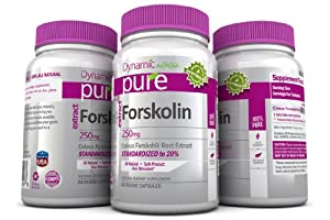Forskolin Pure Coleus Forskohlii Root Standardized to 20% for Weight Loss, Dr Oz Highly Recommended Product for Fat Burning and Melting Belly Fat. The Best Forskolin Product on the Market!! 250mg Yielding 50 Mg of Active Forskolin. Works Excellent with Pure Garcinia Cambogia And Pure White Kidney Bean Extract And Pure BCAA and Pure Caralluma Fimbriata. This Offer Is For One Bottle Manufactured in a USA Based GMP Organic Certified Facility and Third Party Tested for Purity. Guaranteed!!