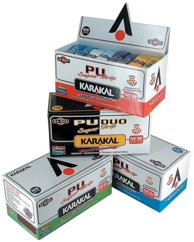 Karakal PU Super Grip 24er Box Farbe: WEIß- WHITE