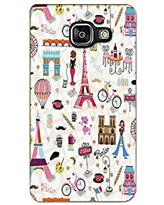 WEB9T9 Samsung Galaxy A5 2016 Back Cover Designer Hard Case Printed Cover