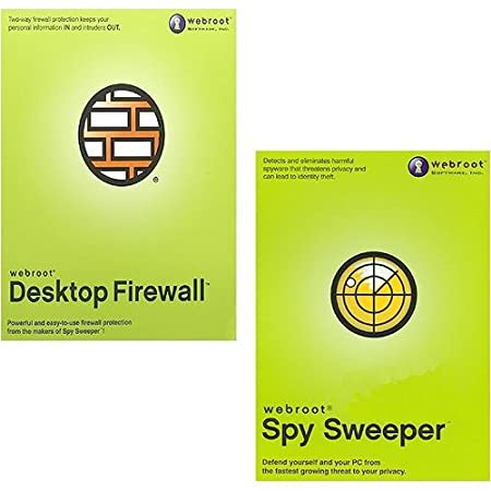 Webroot Desktop Firewall/Spy Sweeper Bundle